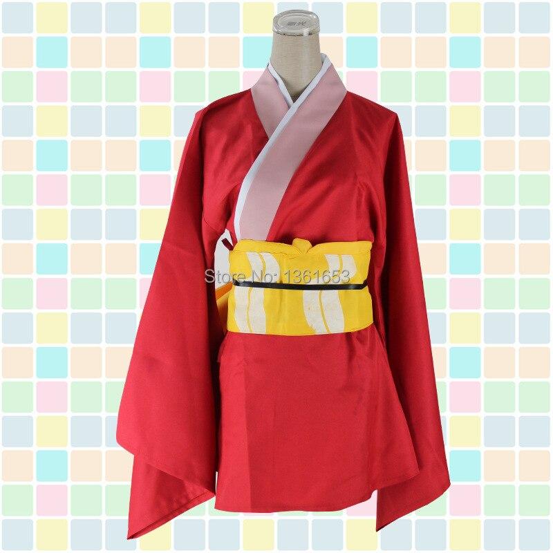Japanese font b Anime b font gintama font b cosplay b font Kagura font b cosplay