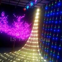 1 5 1 5M Multi Color AC 220V Net Fairy String Light LED Lighting Fairy Wedding