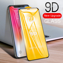 9D Full Cover Tempered Glass For Xiaomi Mi A1 A2 5X 6X 8 9 SE Lite Screen Protector Protective Film