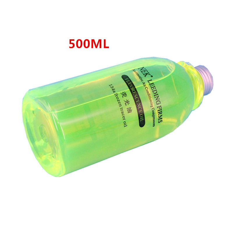 Image 2 - Free Shipping,500ml,Fluorescent oil,Ultraviolet oil leak detection Automobile air conditioning system-in Air-conditioning Installation from Automobiles & Motorcycles
