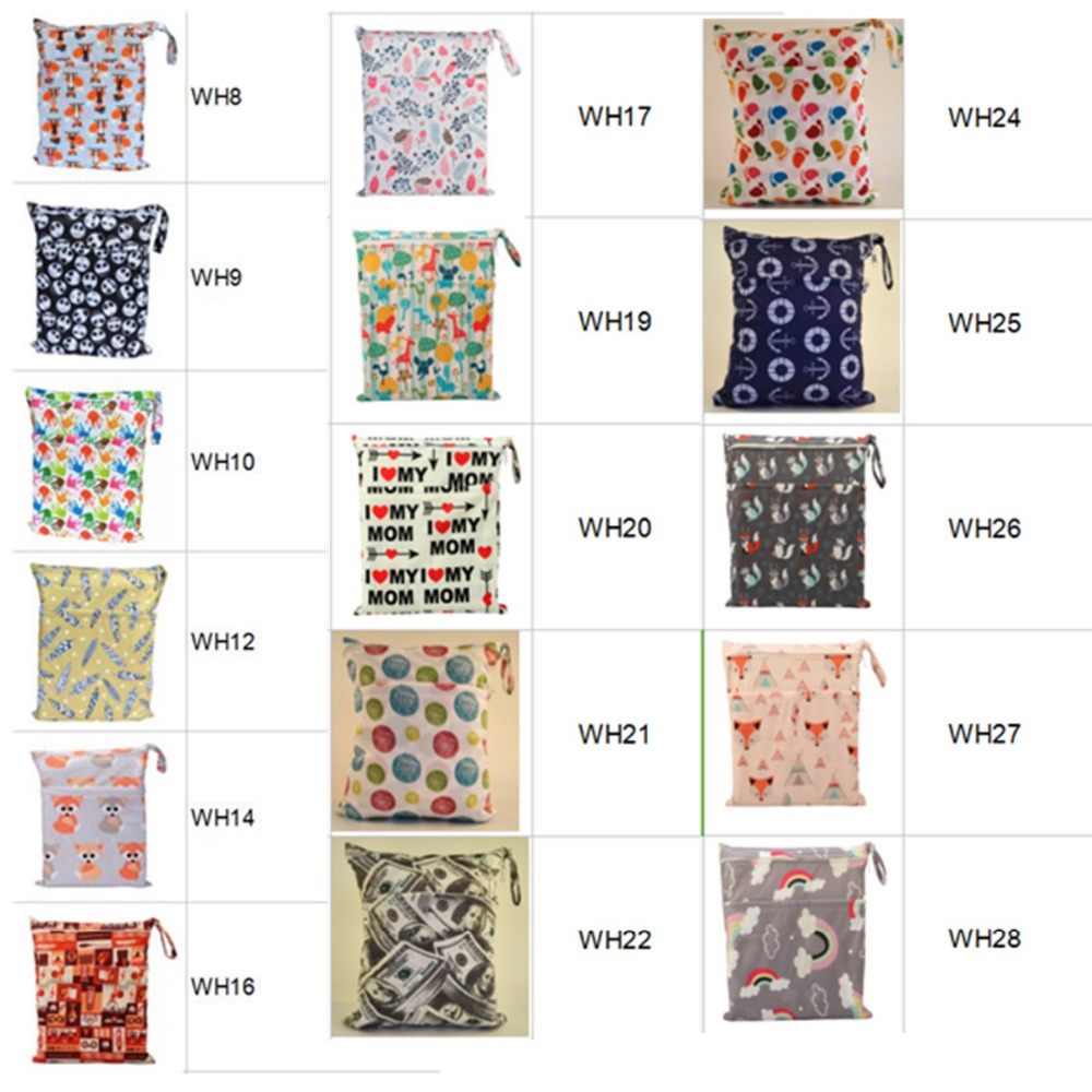 HTB1XZz1bXzqK1RjSZSgq6ApAVXaw [Sigzagor]Wet Dry Bag, With Two Zippered Baby Diaper Bag, Nappy Bag, Waterproof, Reusable,Washable Grey Gray Chevron Zigzag