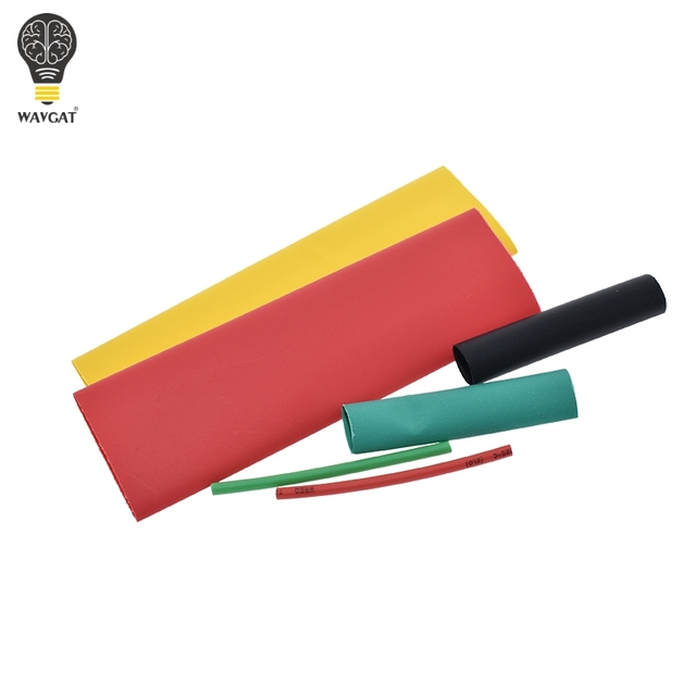 127Pcs / 328Pcs Car Electrical Cable Tube kits Heat Shrink Tube Tubing Wrap Sleeve Assorted 8 Sizes Mixed Color 2