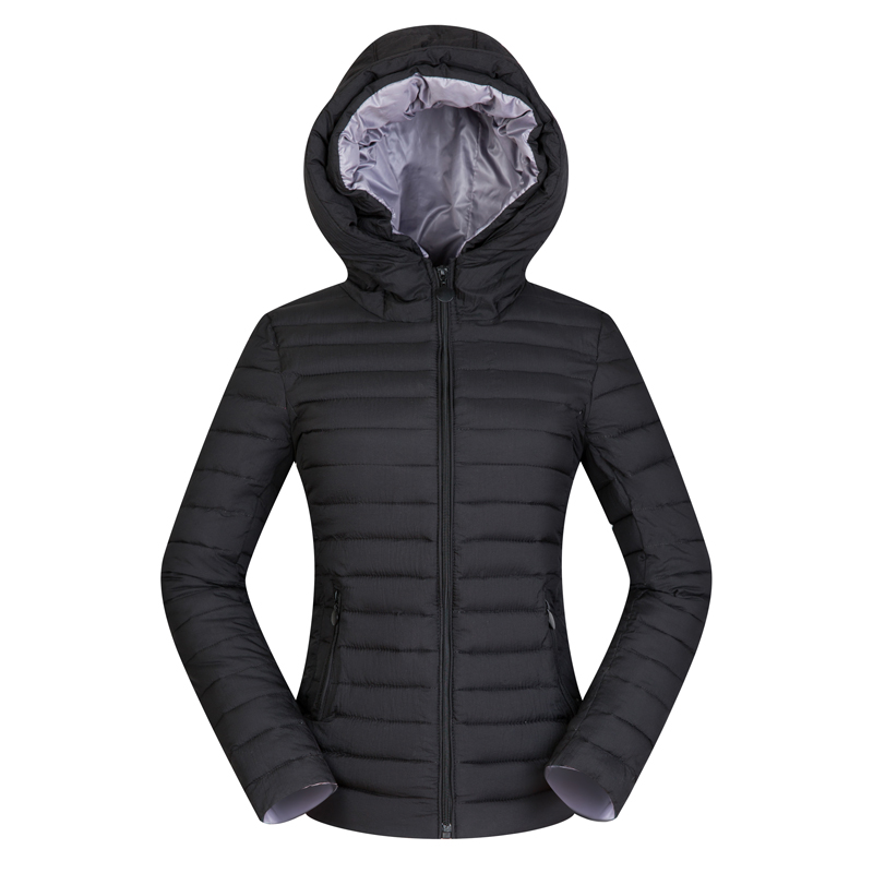 Nice Women Winter Hooded Short   Basic     Jacket   Light Thin Autumn Coat Female Outerwear Plus Size 2XL 4XL Slim Jaqueta Feminina