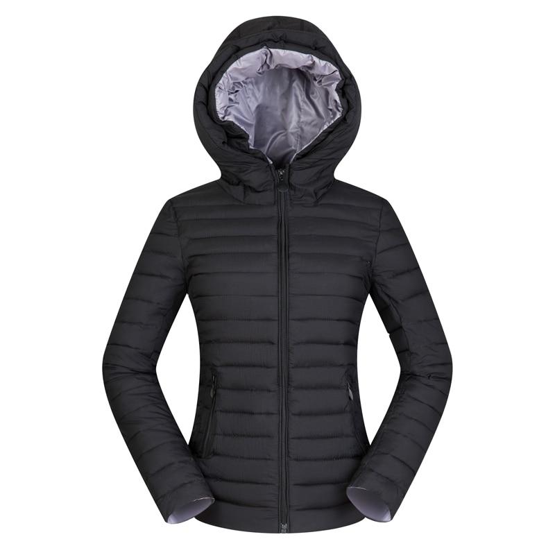 Nice Women Winter Hooded Short   Basic     Jacket   Light Thin Autumn Coat Female Outerwear Plus Size 2XL 4XL Slim Jaqueta Feminina