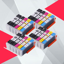 20PK pgi550 pgi-550 cli-551 ink cartridge for canon PGI550 CLI551 PIXMA IP7250 MG5450 MX925 MG5550 MG6450 MG5650 MG6650 MX725