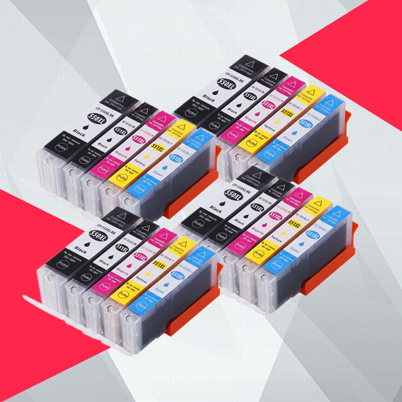 Картридж для принтера canon pgi550 CLI551 PIXMA IP7250 MG5450 MX925 MG5550 MG6450 MG5650 MG6650 MX725
