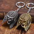 2 colors available Alien & Predator Keychain Alloy Alien Mask Metal Key Rings For Women&Men Chaveiro Movie Jewelry souvenirs