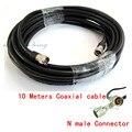 10 М 50-5 Коаксиальный Кабель Для Подключения WiFi 3 Г 4 Г GSM W-CDMA CDMA DCS PCS Повторителя Booster Антенна-n/K разъем включены