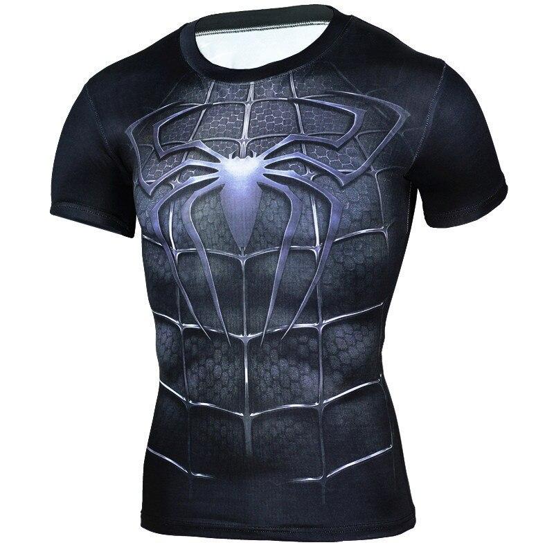 vyrų mados marškinėliai filmo personažas 3D spausdinti - Vyriški drabužiai