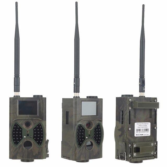 2G GSM MMS SMTP Hunting Trail Camera Cellular Mobile 12MP 1080P Photo Traps Wild Camera HC300M Wireless Wildlife Surveillance 4
