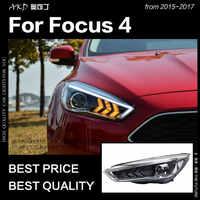 AKD Auto Styling für Ford Focus Scheinwerfer 2015-2017 Neue Focus LED DRL D2H Hid Kopf Lampe Engel Auge bi Xenon Strahl Zubehör