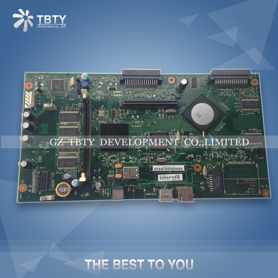 все цены на 100% Guarantee Test Main Formatter Board For HP M4345MFP M4345 4345 CB405-60001 Mainboard On Sale онлайн