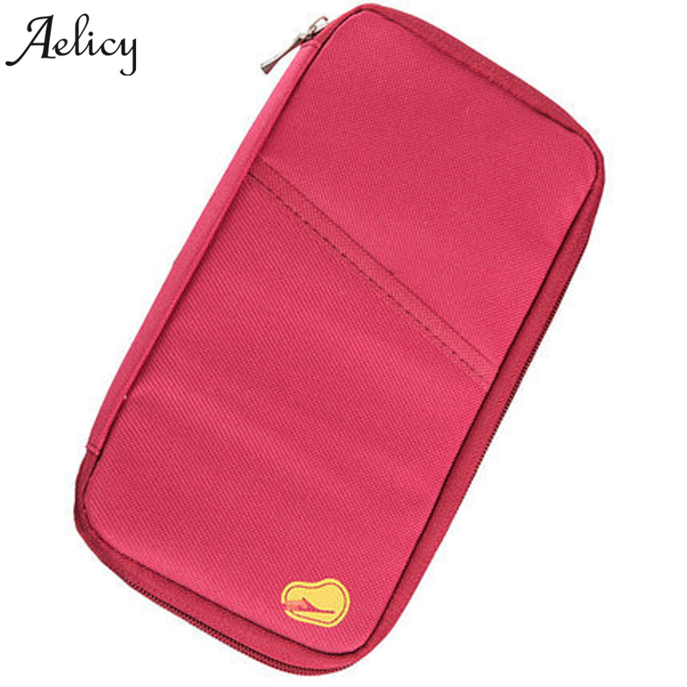 Aelicy New Travel Passport Cover Wallet Travelus Multifunction Credit Card Package ID Holder Storage Organizer Clutch Money Bag neck hanging travel accessory passport cover wallet credit id card holder air tickets package case unisex storage organizer bag