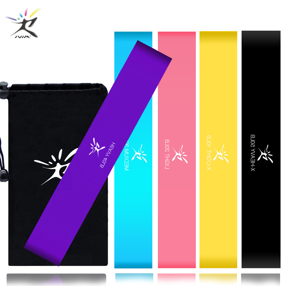 Resistance Loop Bands Elastic Rubber Bands for Fitness Equipment Fitness Elastic Bands Expander Pull Rope Gym Training Workout 5 colors latex resistance bands fitness set rubber loop bands strength training workout expander gym equipment elastic bands