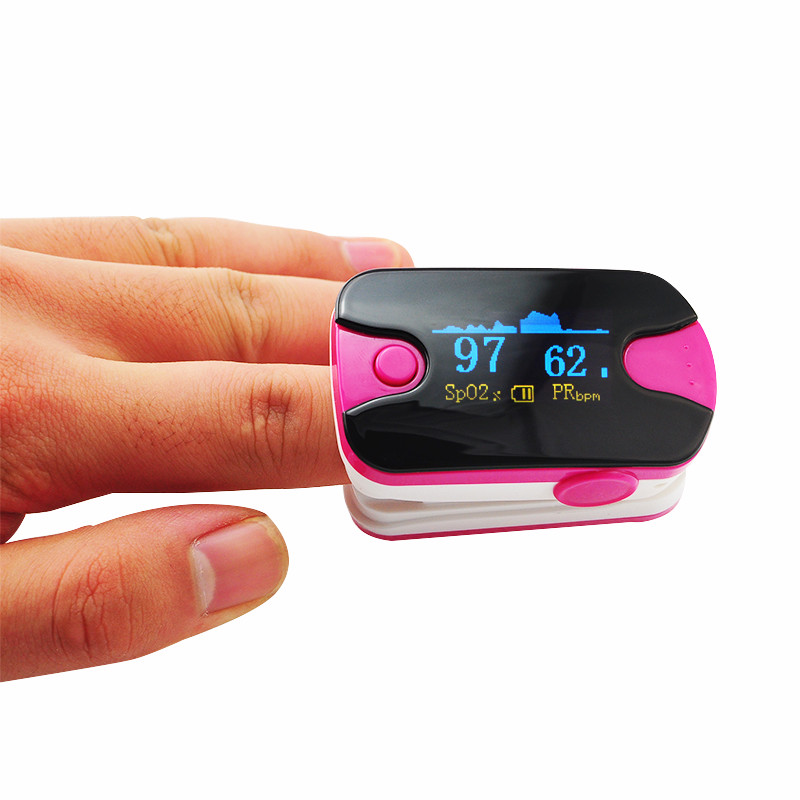 2017 Hot Sale Alarm setting Health care CE FDA OLED Finger Pulse Oximeter Blood Oxygen SpO2 Saturation Oximetro Monitor