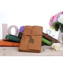 Creative Leather Kraft Paper Notepad