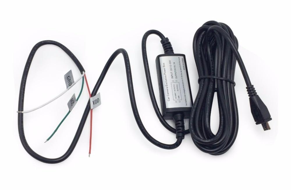 Avtomobil Mühafizəsi Hard Wire Kit 12V-dən 5V-dək Avtomobil Video - Avtomobil elektronikası - Fotoqrafiya 2