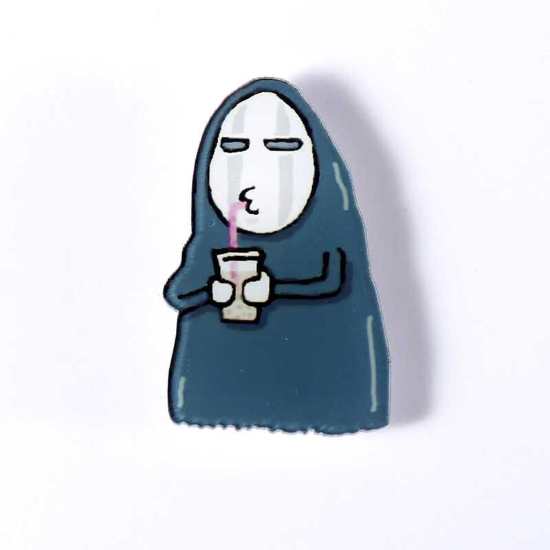 Y33 Япония аниме значки мультфильм булавки для одежды модные броши милые иконы на рюкзак аниме-Броши для женщин/мужчин rozet