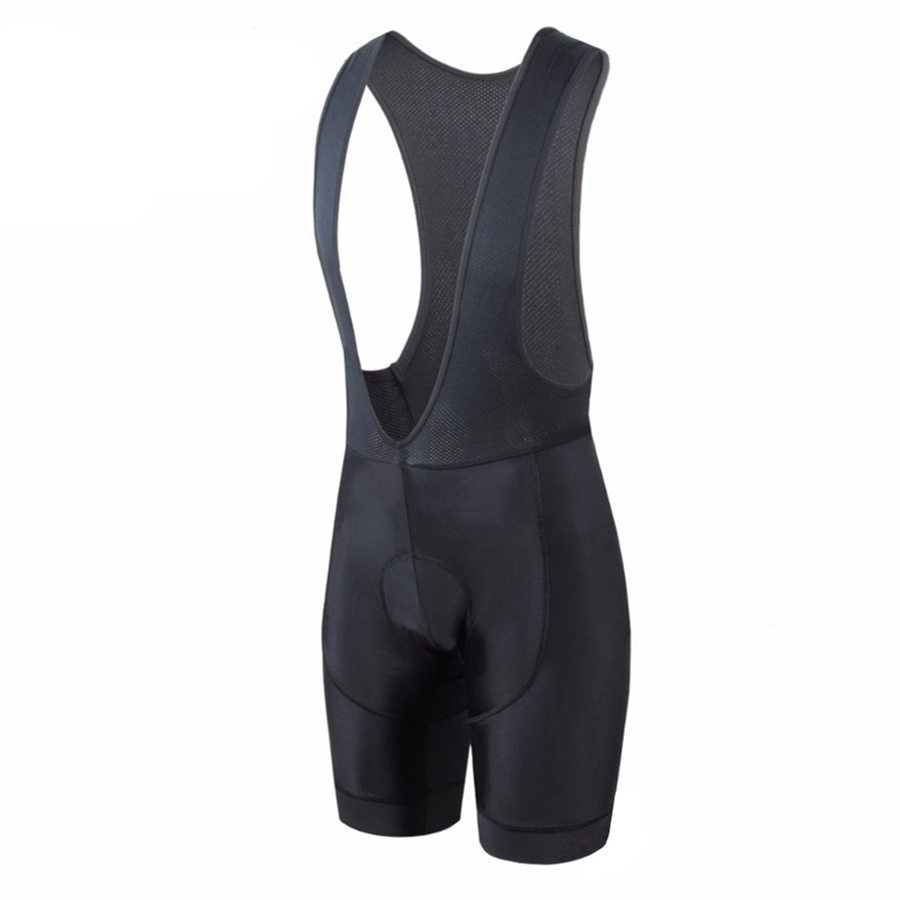 Top quality Pro Full Black Cycling <font><b>bib</b></font> <font><b>shorts</b></font> race fit bottom Ciclismo men Cycling <font><b>Short</b></font> with 4D gel pad Italy Silicon grippers image