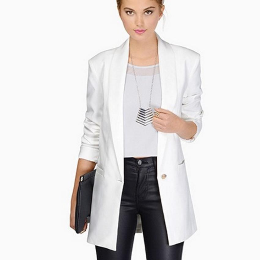 Sleeve Plus 2xl Blazer white Cool Size Pocket Coat Ruched Small Suit Ol Women Slim rose Black Black wU1IORq