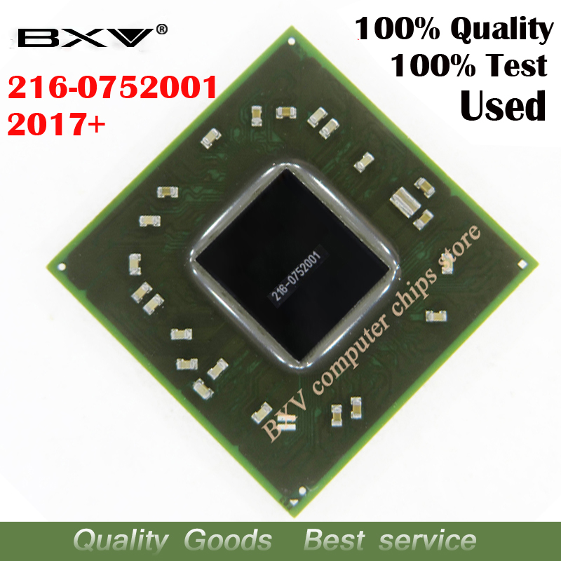 2pcs 2017+ 216 0752001 100% test work very well reball with balls BGA chipset for laptop free shipping tracking message-in Integrated Circuits from Electronic Components & Supplies