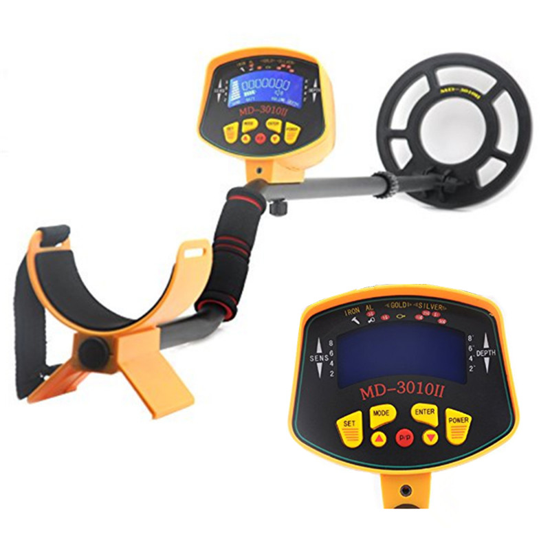 Professional Metal Detector MD3010II Underground Metal Detector Gold High Sensitivity and LCD Display MD-3010II Metal Detector professional deep search metal detector goldfinder underground gold high sensitivity and lcd display metal detector finder