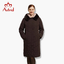 Astrid Big Size Winter Women Jacket Coat Warm down jacket large Parkas New Winter Cotton Outwear winter coat FR-6628(China)