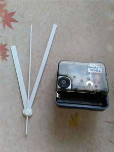 Image 2 - ¡Superventas! ¡500 Uds.! Reloj de pared DIY con manecillas de reloj blancas sin Tic Sweep Kit de movimiento para reloj de cuarzo