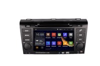 2DIN Android 1024*600 OCTA/Quad Core Fit MAZDA 3 2004 2005 2008 2009 Car DVD Player Multimedia GPS Navigation NAVI GPS Radio DVD