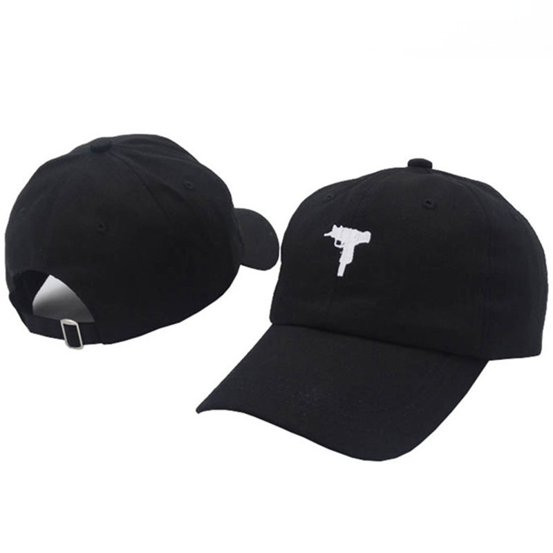 TUNICA 2017 New Rare Vintage UZI Gun Snapback Dad Hat   Cap   Printed Pink   Baseball     Cap   Women Men Brand Hip Hop Bones Male Female