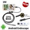 2MP 8mm Android USB Endoscope Camera USB Camera HD720P Waterproof OTG Flexible Snake USB Andorid Borescope