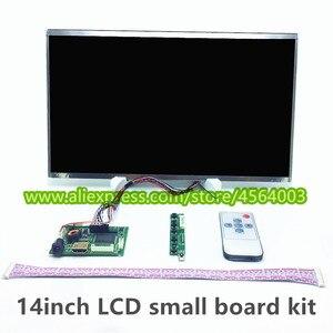 14 cal ekran LCD mini kontroler B140XW01 LP140WH1 LTN140AT07 N140BGE-L23 monitor Audio małe płyta sterownicza hdmi vga zestaw modułów