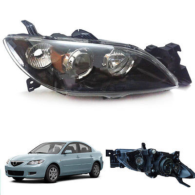 For Mazda 3 Sedan 2004-2009 Right&Left Composite Headlight Lamp Assembly Set right combination headlight assembly for lifan s4121200