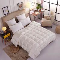 Luxus Natürlichen 95% Gans Daunendecke Weiche Warme Königin Kingsize hochwertigen Steppdecke/Duvet Allergiker Schlafzimmer Vier jahreszeiten