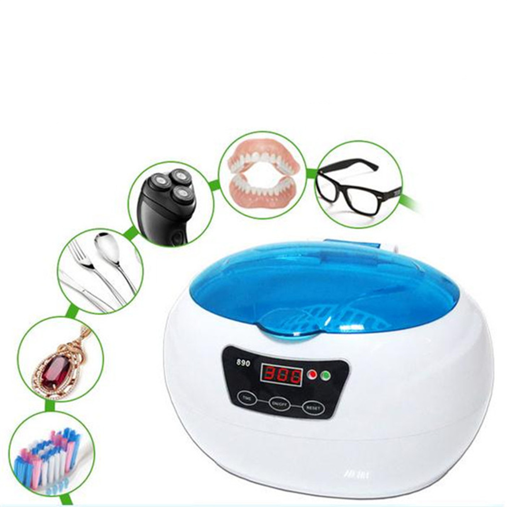 600ml Digital Ultrasonic Timer Jewelry Eyeglass CD Glassware Instrumet  Beaker Cleaner Cleaning 42KHz 110V/220V professional digital ultrasonic jewelry and eyeglass cleaner with digital timer 35w mini ultrasonic cleaner bath