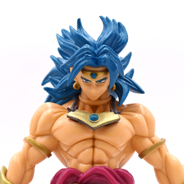 Free Shipping 8inch 20cm Dragon Ball Z Broli Broly Anime Action Figure PVC New Collection Figures