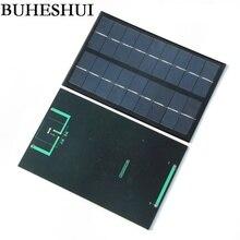 BUHESHUI 3W 9V Epoxy Solar Panel Solar Cell Panel For DIY Solar Light Solar Charger Solar Kits125*195*3MM 2pcs/lot Free shipping