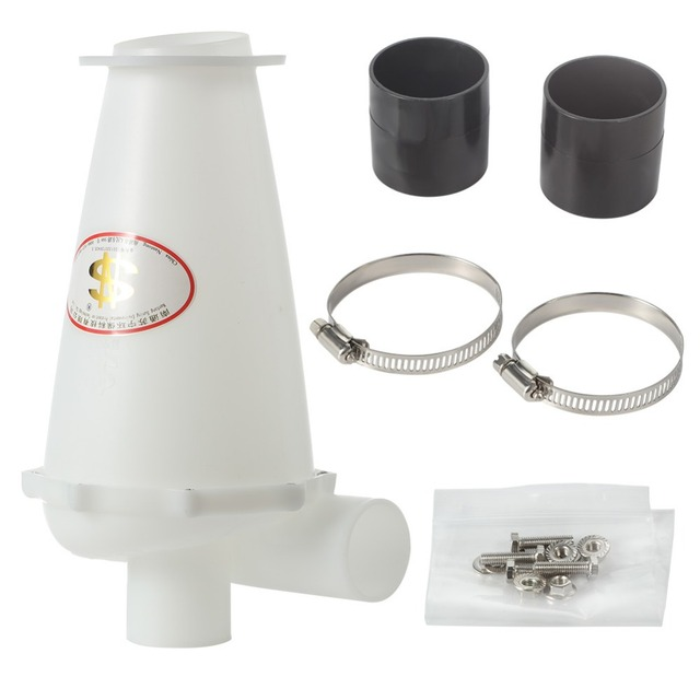 Adoolla filtro ciclónico fuerte de 6. ª generación, colector de polvo, ciclón turbocargado con separador de Base de brida