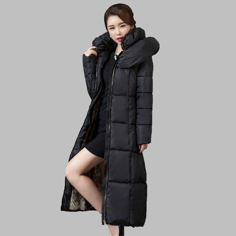 2016New Fashion Winter Han edition Down jacket Show thin Cultivate one's morality Hooded Ladies' Cotton-padded clothes CoatG1271