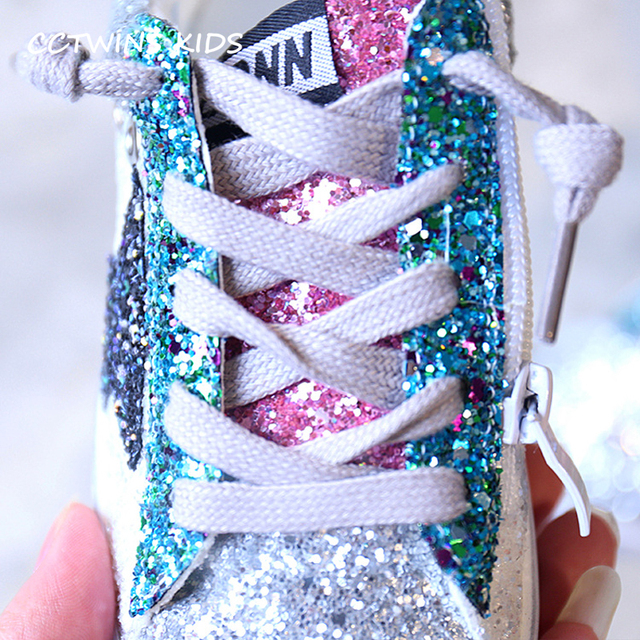 Shiny Glitter Sneakers Shoes