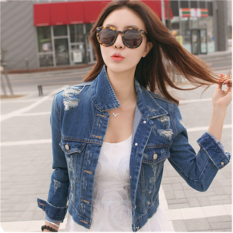 Denim Short Jackets For Women - JacketIn