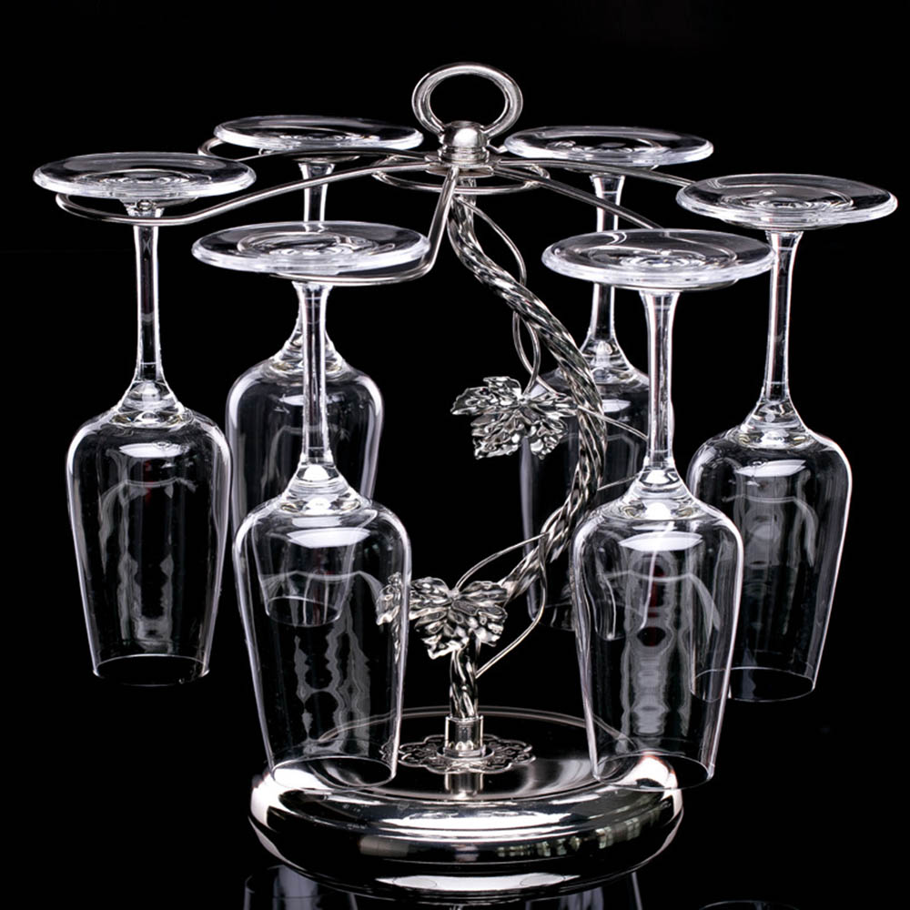 Online buy wholesale wine glass cabinet from china wine for Decorative wine glasses cheap
