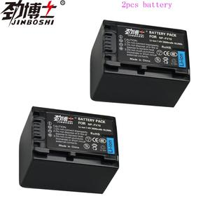 2Pack NP-FV70 NP FV70 Rechargeable Camera Li-ion Batteries for Sony NPFV70 HDR-CX230 HDR-CX150E HDR-CX170 CX300