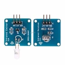 NE555 Infrared Transmitter+IR Receiver With 38KHz Carrier IR