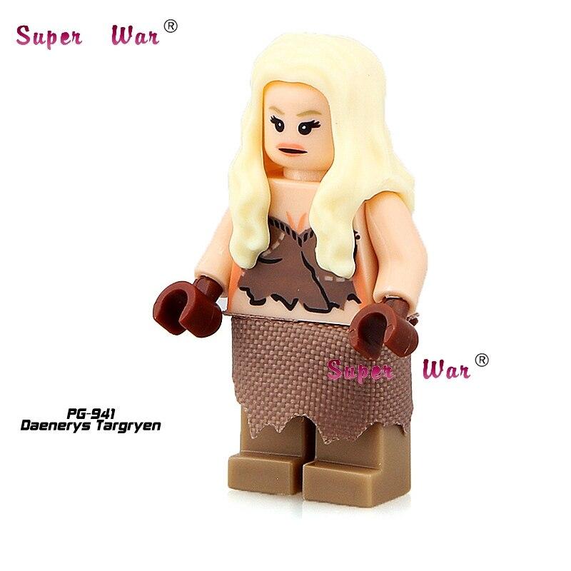 20pcs star wars superhero marvel Game of Thrones Daenerys building blocks action figure bricks model educational diy baby toys