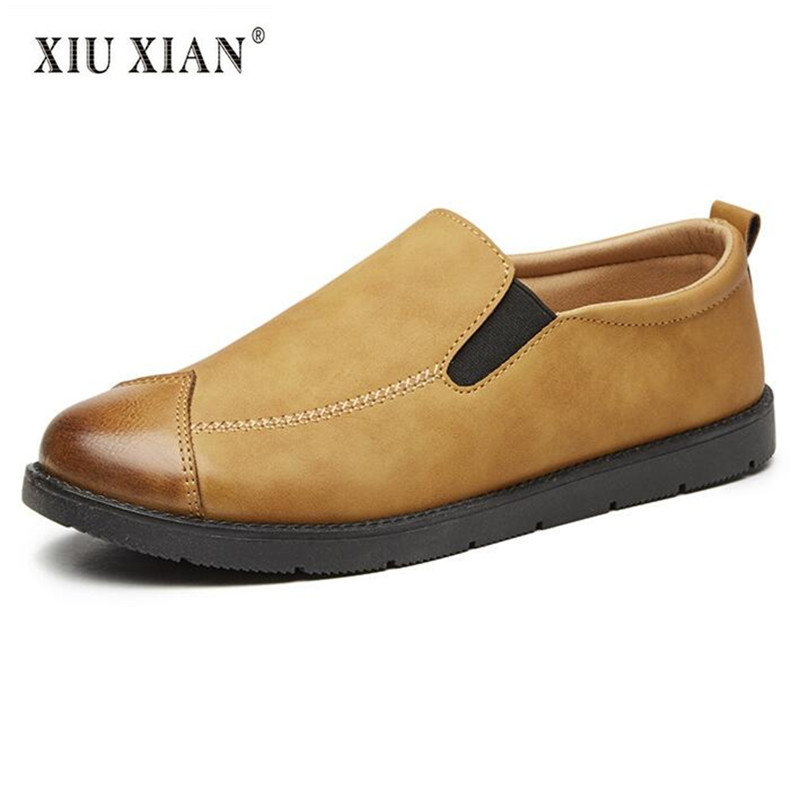 2018 Spring New Hot Original Design Men Loafers Quality PU Leather Shallow Slip on Comfort Driving Men Casual Summer Flats Shoes new 2017 men s genuine leather casual shoes korean fashion style breathable male shoes men spring autumn slip on low top loafers