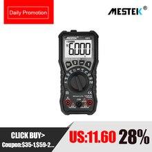 MESTEK NCV Digital Multimeter 6000 counts Auto Ranging AC/DC Voltage M