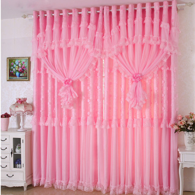 Online Shop Helen Curtain Hot ! 3 lays lace luxury curtains for ...