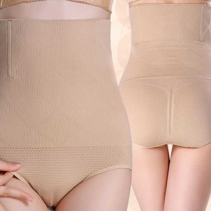 9fa99a1cadf KLV M/XL Women High Waist Shapewear Seamless Tummy Control Body Shaper  Panty Tummy Briefs