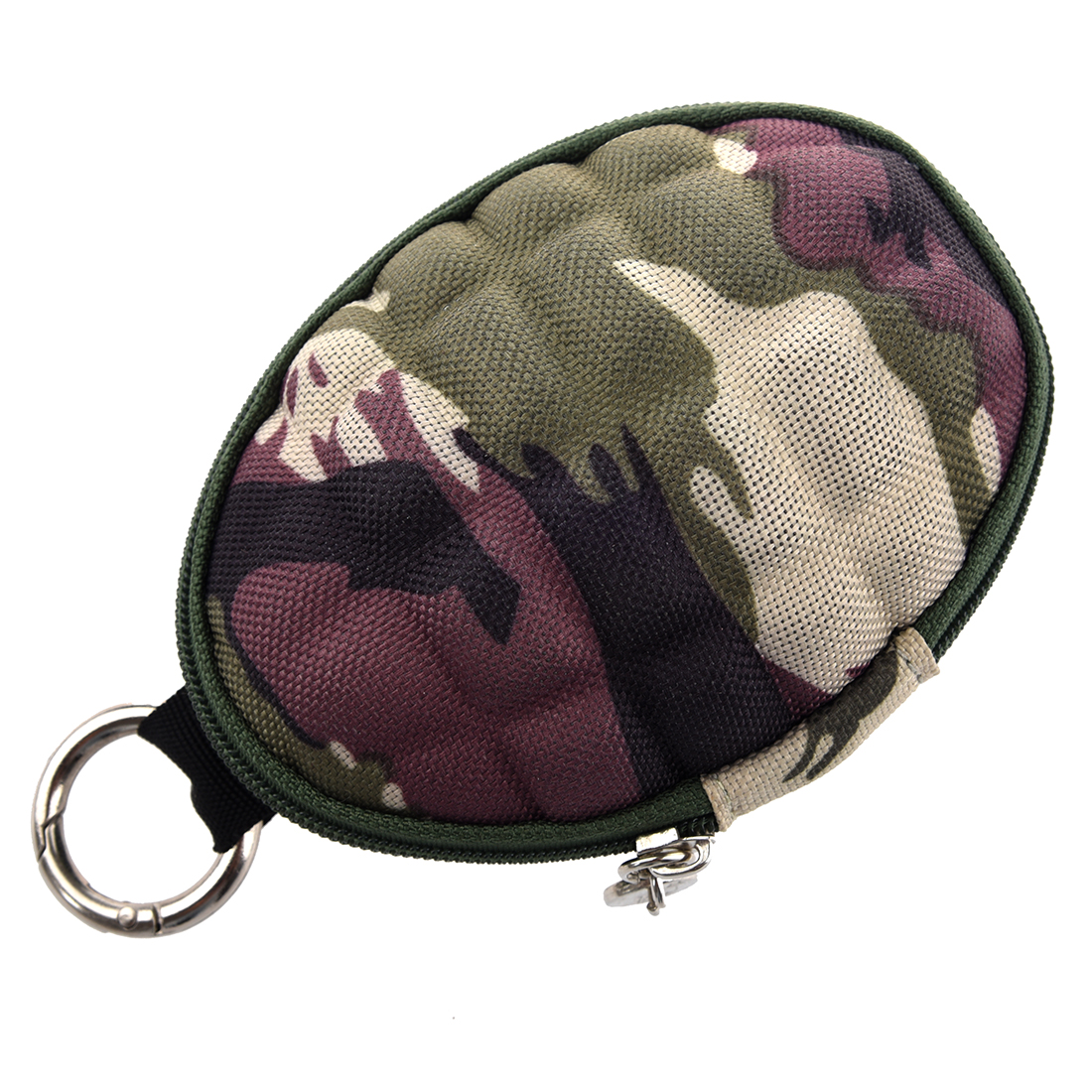 ASDS Camouflage Key & Coin Case Duck  coin case / key case / Pass Case carabiner typ With six consecutive hook sanrenmu sk009d lucky number 9 carabiner with key ring